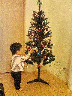 クリスマスツリー。その後
