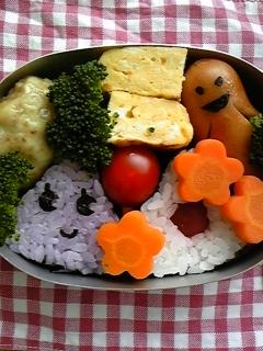 本日のお弁当。