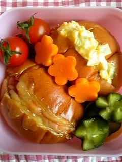 昨日のお弁当。