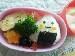 本日のお弁当と台風。